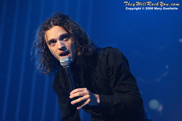 Alex Deleon of The Cab Live - Photo by:  Mary Ouellette